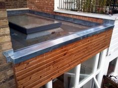 Metal Roofing and Cladding London Essex Kent Zinc Roof, Timber Roof, Metal Roof, Zinc Cladding, Roof Cladding, Roof Hatch, Standing Seam Roof, Patio Canopy, Steel Panels