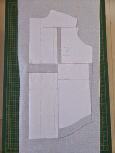 Fitting for slouch: No-dart Full Bust Adjustment (FBA for slouchy tops) - from Jo sews blog http://jo-sews-etc.blogspot.co.uk/2014/04/fitting-for-slouch-no-dart-full-bust.html