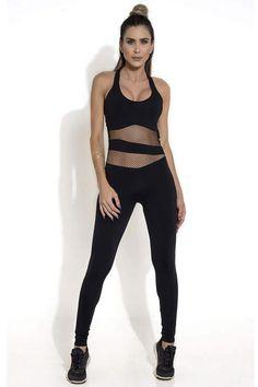 ff70ad560a8f Black Intense Brazilian Workout Jumpsuit