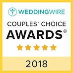 We were just awarded Wedding Wire Couple's Choice for 2018! #frederickweddings #shewsical