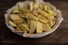 Apple Pie (without refined sugar)