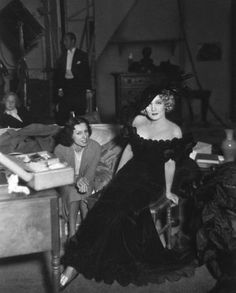 """""""The Song Of Songs"""" Behnd the scenes, Marlene Dietrich. 1933/Paramount"""