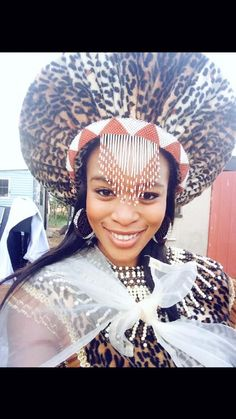 Check the headgear- isibaya wedding