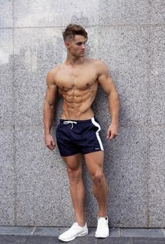 Ripped Abs Not Just For Looks - body building concept Muscle Hunks, Muscle Men, Male Fitness Models, Male Models, Sexy Gay Men, Athletic Body, Male Physique, Workout, Attractive Men