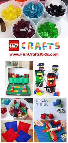 Lego Crafts Round Up - an amazing collection of TEN (x1) Lego Crafts