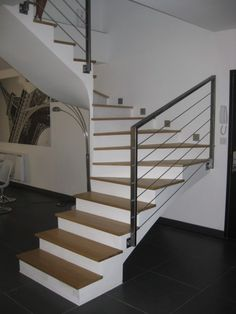 8 Best Rampe D Escalier Images On Pinterest Banisters Stairs And
