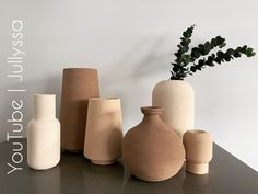 Boho Diy, Boho Decor, Terracotta Vase, Diy Painted Vases, Diy Crafts For Home Decor, Home And Deco, Vases Decor, Diy Painting, Decoration