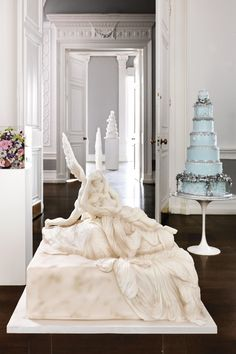 Couture Art Inspired Wedding Cake Inspiration (BridesMagazine.co.uk)