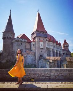 Corvin Castle is maybe one of the most fairytale-like sites in Europe Romania, Barcelona Cathedral, Fairytale, Places To Visit, Castle, Europe, Building, Travel, Fairy Tail