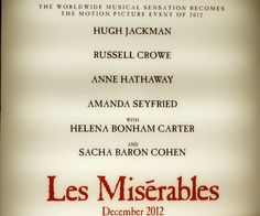 "My article on the teaser trailer for ""Les Miserables"" #Examinercom"