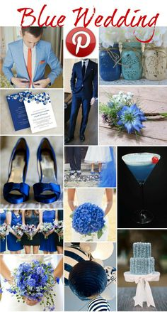 Boho Pins: Blue Weddings