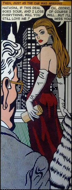 50 Ideas For Pop Art Comic Retro Roy Lichtenstein Roy Lichtenstein, Comics Love, Comics Girls, Pop Art Girl, Up Girl, Pin Up, Arte Do Pulp Fiction, Comic Books Art, Comic Art