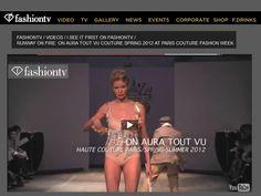 fashiontv com video runway on fire on aura tout vu couture spring 2012 at paris couture fashion week ftv