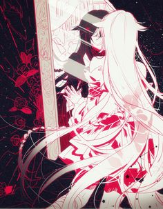 """""""She is me and I am her. Just like one person."""" -Pandora Hearts Alice x Will of the Abyss"""