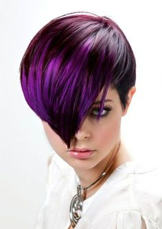 Amazing Pixie Cut with Awesome Long Bangs