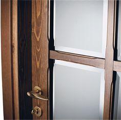 FBP porte | Collezione EVA Vetro stile inglese #fbp #porte #legno #door #wood #englishstyle #glass