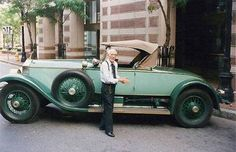 This 102 yr old man has driven the same Rolls Royce for 82 years--A 1928 Rolls Royce
