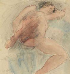 Auguste Rodin Paris - Meudon) - Lying Nude, N/D Musée Rodin, Paris, France Auguste Rodin, Musée Rodin, Figure Painting, Figure Drawing, Rodin Drawing, Kunst Online, Modern Sculpture, Life Drawing, Portrait Art
