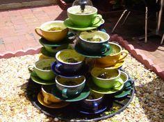 Tea Cup fountain...