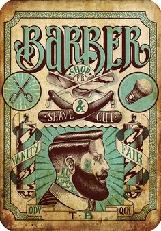 Vintage Hairdresser Tattoos Patterned Posters Kraft paper Interior Painting Restoring Wall Sticker Barber shop Home Decoration d. Category: Home & Garden. Barber Poster, Barber Logo, Barber Shop Vintage, Barber Shop Decor, Vintage Hairdresser, Hairdresser Tattoos, Vintage Tattoo Design, Tattoo Posters, Barber Haircuts