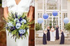 Blue Wedding Inspiration & Ideas in Association with De Beers Fine Jewellery   http://www.rockmywedding.co.uk/something-blue/