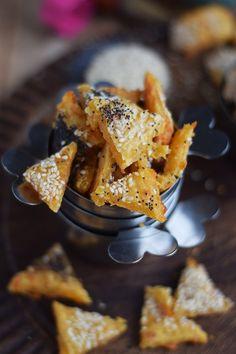 Käse-Cracker: Knusprig Und Schnell   Das Knusperstübchen