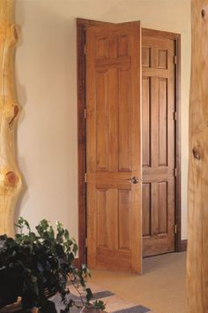 Amazing Ponderosa Pine Raised 6 Panel Doors. (108)