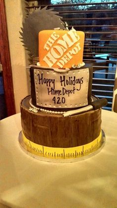 Home Depot Cake Vaughan | For the kids | Pinterest | Cake, Birthdays ...