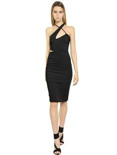 Versace Stretch Viscose Cady Dress Kleid Dressy Dresses Lovely