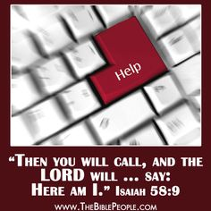 <3 Isaiah 58:9