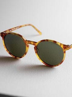 Lafont Demi-Blond Classic Sunglasses