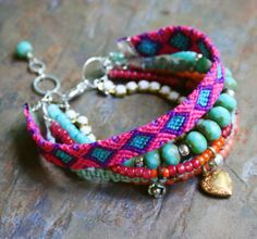 Layered Lovelies  Bohemian Style Multiple Strand by labellesavage