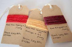 Wool with kool Aid dye by suziesparkle, via Flickr