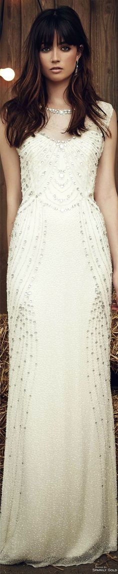 Jenny Packham Spring 2017 Bridal V Armani Prive, Wedding Bride, Wedding Gowns, Jenny Packham Bridal, Ladylike Style, 2017 Bridal, Bouquets, Alexander Mcqueen, Yves Saint Laurent