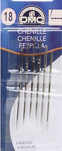 Notions - DMC Chenille Needles - Size 18