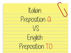 When Italian Preposition A becomes English Preposition TO :http://www.easitalian.com/blog/2016/12/30/italian-preposition-becomes-english-preposition/