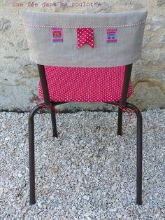 Les 25 meilleures id es de la cat gorie housses de chaises - Housse de chaise patron gratuit ...