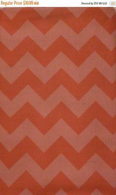 50% OFF SALE-- Chevron Pink by Riley Blake Designs Medium Pink Chevrons Tone On Tone Designer Fabric by the Yard