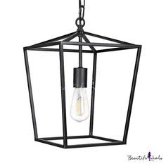 Black Lantern Pendant Light with Metal Frame Single Light Industrial Hanging Cei. This wonderful photo collections about Black Lantern Pendant Light wit Lantern Pendant Lighting, Industrial Ceiling Lights, Industrial Light Fixtures, Hanging Ceiling Lights, Pendant Light Fixtures, Ceiling Lighting, Club Lighting, Black Pendant Light, Ceiling Fans