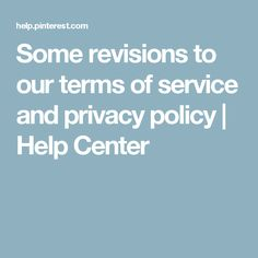 Some revisions to our terms of service and privacy policy Police, Policy Change, Privacy Policy, Terms Of Service, Good To Know, Helpful Hints, Tips, Free Stuff, Magick