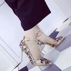 46174e654dfc lace platform party shoes Wrap Shoes