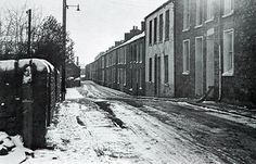 Taken when there was still some snow, this shows Rees Street which was demolished to make way for the My Aunt & Uncle still lived here at I think Number 5 in the Make Way, South Wales, Beautiful Pictures, Number 5, Street, Places, Photos, Art, Art Background