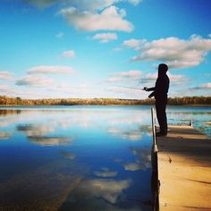 Fishing is one of Minnesota's most popular outdoor sports. Photo credit: @thereneemh #OnlyinMN