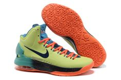 new concept 558ba 1d9d5 Kevin Durant 5 All Star Liquid Lime Total Crimson Sport Turquiose Shoes