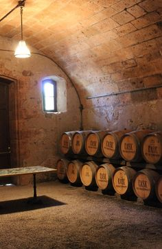 Climbing Vines And Wine Barrels Chateau Montelena