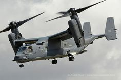 USAF Special Operations CV22 Osprey convertible, RIAT 2015, Photo : André Bour - www.helicopassion.com