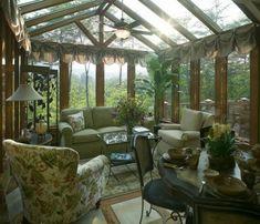 Verglaste Veranda-haus Raumpflanzen | Wohnen Wohnzimmer ... Verglaste Terrasse Oder Veranda
