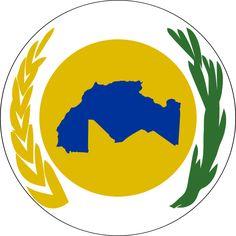Emblem of Maghreb - Bandeiras de África – Wikipédia, a enciclopédia livre