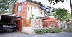 Corner minimalist house #homedesign #minimalisthouse #housedesign #minimalisthousedesigm