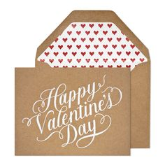 Kraft Valentine | Sugar Paper Los Angeles